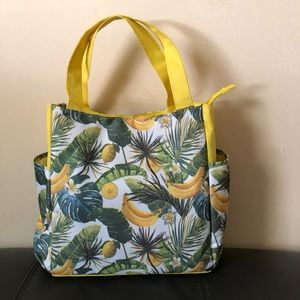 NWOT Tropical 🌴 Insulated Lunch 🥗 Tote